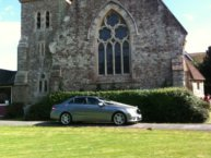 wedding chauffeur car